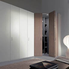 cabine armadio moderne, cabina armadio design, camere moderne