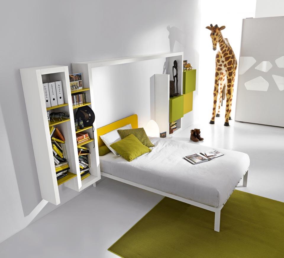 Camere bambini camere moderne camerette ragazzi - Letto che si chiude ...