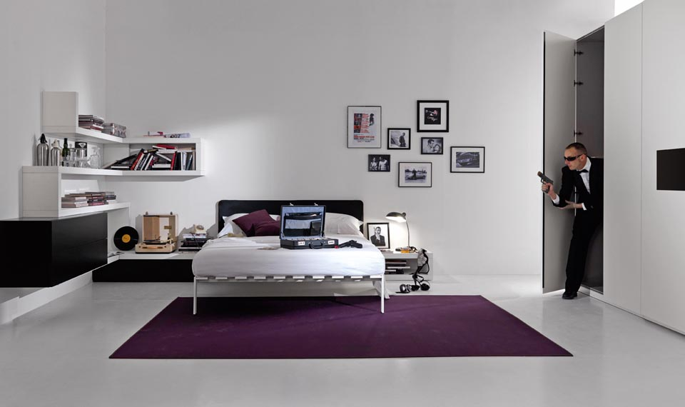 Camere per ragazzi moderne design casa creativa e mobili - Camere da letto per ragazzi moderne ...