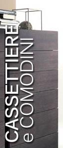Camere moderne letti moderni e di design armadi moderni - Cassettiere moderne design ...
