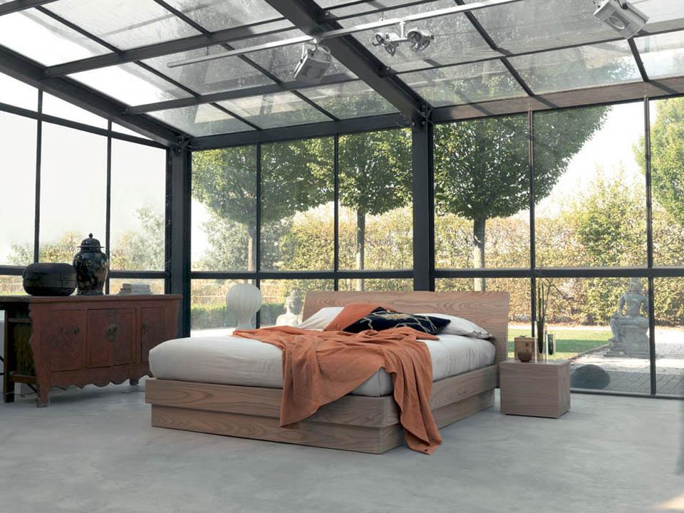 Letti moderni letto design camere moderne for Letti contenitore moderni